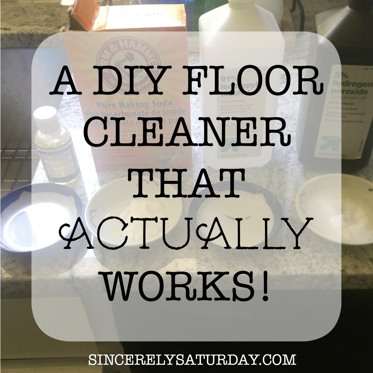 A DIY FLOOR CLEANER THAT ACTUALLY WORKS!